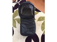 Baby Jogger compact carry cot.