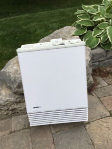 Convectair Calypso Heater -  White, Fan Forced With  Timer