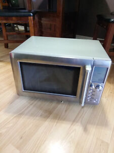 Stainless steal microwave