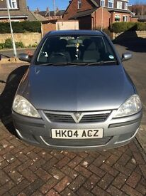 04 plate corsa, has an MOT until September 2017 and has 79,447 miles on the clock