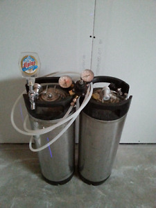 Beer canisters