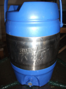 Bubba 384 oz or 3 gallon drink cooler stainless steel/blue with
