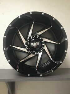 !! BRAND NEW 20X12 RDR RIMS FOR $1590 THE SET !!