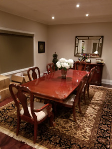 Beautiful solid cherry dining set...need sold asap