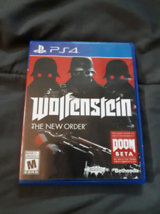 PS4 Wolfenstin game