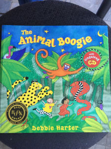Giraffes Can't Dance/ Animal Boogie - both with CD