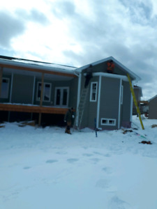 Wanted lead hand and helpers for siding and window installation