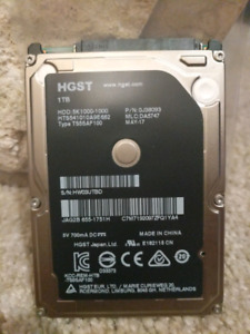 Original 1 TB Apple HDD hard disk SATA AS NEW