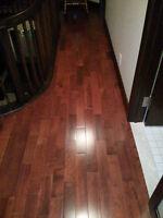 Cherry Maple flooring