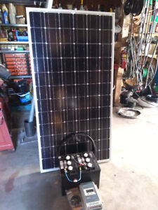200W MPPT MONO SOLAR SYSTEM INCLUDES 6V DEEP CYCLE BATTERIES