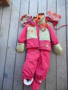 Habit de neige Perlimpinpin fille, 24 mois