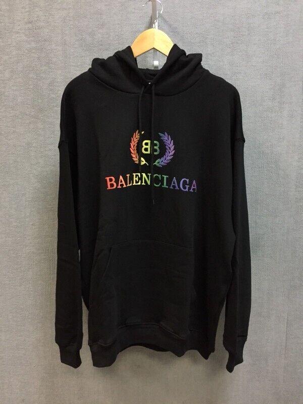 get online price reduced innovative design Balenciaga Rainbow Hoodie | in Liverpool City Centre, Merseyside ...