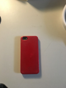 iPhone 5s with Red Cover Unlocked 16GB