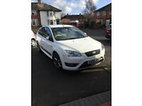 FORD FOCUS ST2 ( RARE STANDARD IN DIAMOND WHITE ) 2006 VIEWINGS AND OFFERS WELCOME .. NICE CAR