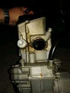 Ktm 250 F complete engine ,motor with brand new 280 kit