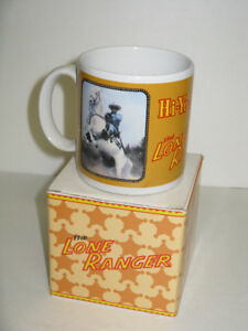OLDER THE LONE RANGER MUG WITH BOX