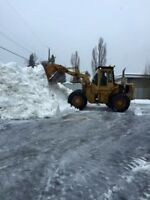 Call Chuck to book your commercial Snow Removal Today