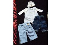 Baby boys clothes, 3-6 All great condition.