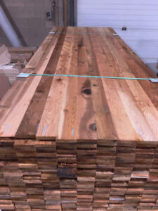 "Western Red Cedar-Lumber Boards 1x4""-12""in STK, S1S & Clear, S1S"