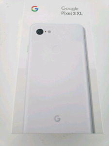 White Google Pixel 3 XL Brand new Sealed in box-1 Yr warranty