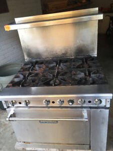 Imperial Commercial Gas Oven and Range