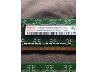 512MB RAM Cards