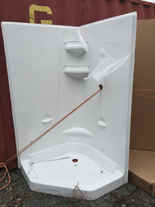 """NEW 42"""" NEO ANGLE SHOWER"""