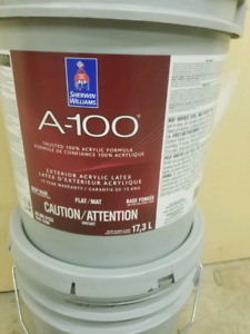 Can be Painted at 2°C!!! SHERWIN WILLIAMS A-100 Exterior Flat