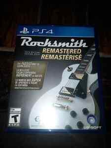 Rocksmith ps4 with cord Kingston Kingston Area image 1