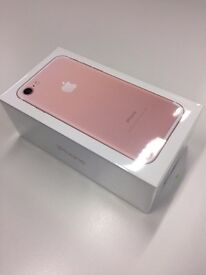 Brand New - Unopened - iPhone 7 32gb - Rose Gold