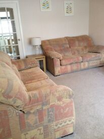 Large than average 3 seater & 2 seater for sale