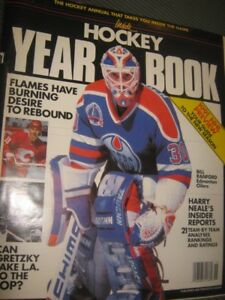 """EXtremely cool """"Inside Hockey year book"""" on 89/90 season"""