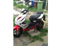 Aerox 50cc with 70cc