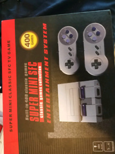 New in box NES. 400 built in games.