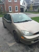 2003 Ford Focus ZTS low km fully loaded