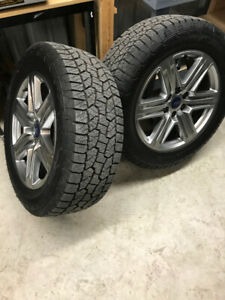 20 inch Ford rims. wheels off a brand new F150.