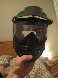 Airsoft and paintball mask