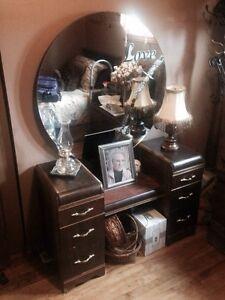 Antique Make Up Desk