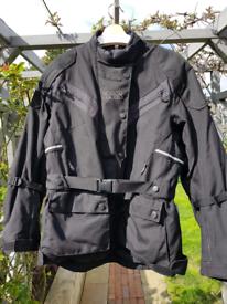 IXS Ladies Textile Motorcycle Jacket and Trouser Set Size