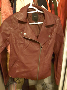 Leather jacket foever 21