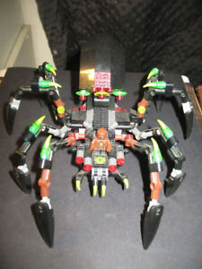 "(LOOSE) LEGO CHIMA ""SPARRATUS' SPIDER STALKER"" (REPLACED MF)"