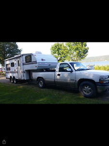 1993 5th FIFTH WHEEL TRAVEL TRAILER (22.5ft)