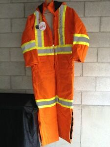 Winter work insulated coverall