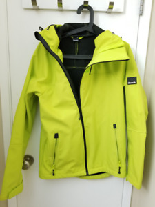 Bench lime green soft shell jacket
