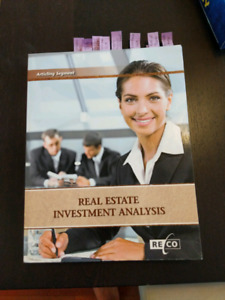 Free real estate investment analysis course book