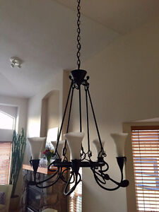 FINAL REDUCTION !!  Wrought Iron Dining Light
