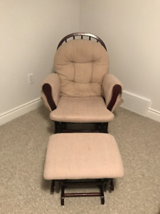 Glider Chair with Ottoman