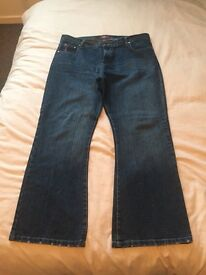 Men's jeans 38 waist short leg