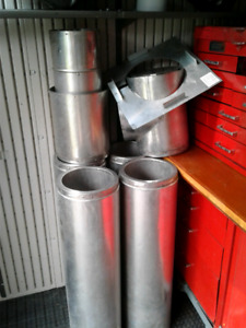 Insulated chiney pipe  with elbow  and bracket