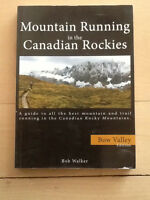 Mountain running in the Canadian Rockies, Bow Valley. Bob Walker
